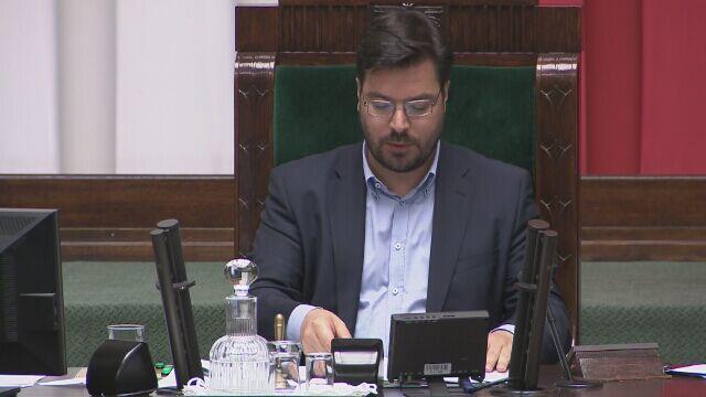 Stanisław Tyszka kończy ostatnie posiedzenie starej kadencji Sejmu