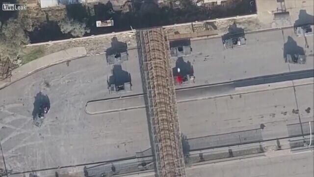 Naloty przy pomocy dronów