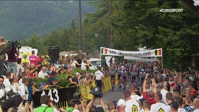 4. etap Tour de Pologne zakończony wspomnieniem Bjorga Lambrechta