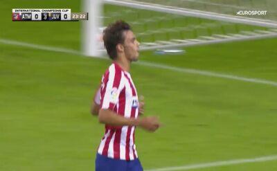 Skrót meczu Atletico Madryt - Juventus w turnieju International Champions Cup