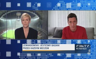 Robert Lewandowski tęskni za kibicami