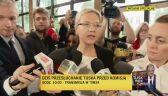 Wassermann: jeżeli Tusk nie ma nic na sumieniu, to nie powinien się niczego obawiać
