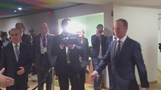 Joseph Muscat gratuluje Donaldowi Tuskowi