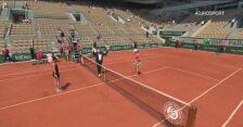 Skrót ćwierćfinału Roland Garros Maria Sakkari - Iga Świątek