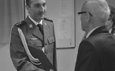 Komendant Krzysztof Skowron pracował w wielu komisariatach