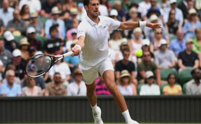 Novak Djoković na Wimbledonie 2019