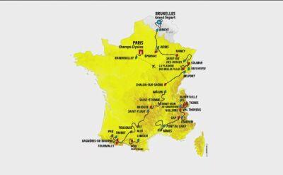 Profil 8. etapu Tour de France