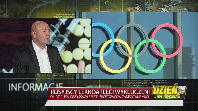 Ziółkowski o dopingu Rosjan