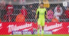 Bramkarz Rafael Romo ucierpiał po wybuchu petardy