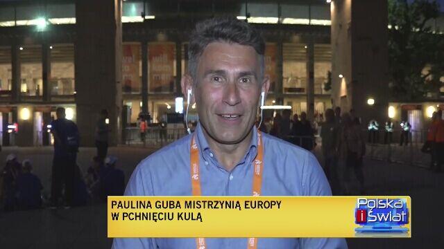 Robert Korzeniowski o sukcesie Pauliny Guby