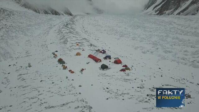 Tak wygląda baza Polaków pod K2