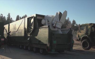 Rosyjskie działo laserowe
