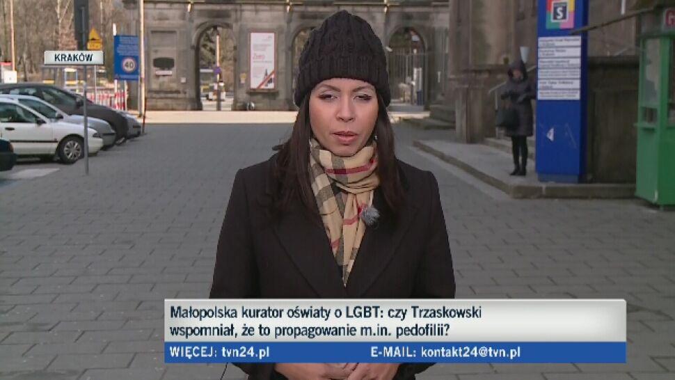 """""""Propagowanie pedofilii"""". Burza po wpisie małopolskiej kurator oświaty o LGBT"""