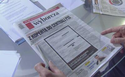 """""""Wyborcza"""": Birgfellner wypłacił 50 tys. złotych, które miały trafić do koperty. Jest dokument"""