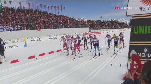 Szwedki mistrzyniami świata w sprincie drużynowym, Polki 10.