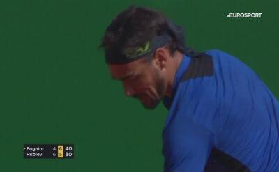 Fognini w drugiej rundzie turnieju ATP w Monte Carlo
