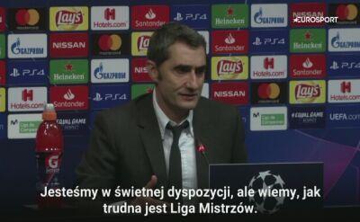 Valverde: nie zamierzam przepraszać za to, że mamy Messiego