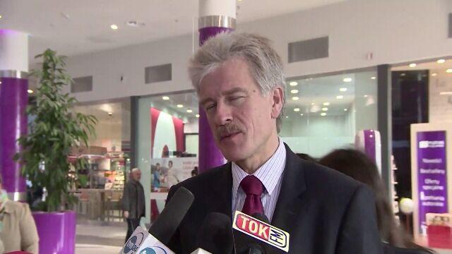 Ryszard Grobelny wypowiada się o otwarciu Poznań City Center