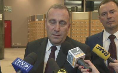 Schetyna: nie będzie debaty w PE ws. sytuacji w Polsce