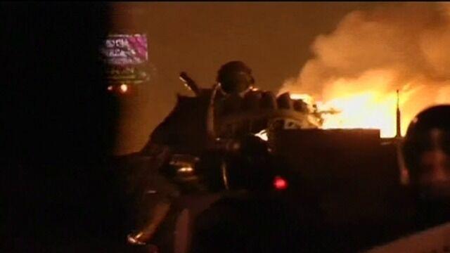 Tak wyglądało starcie Berkutu z demonstrantami