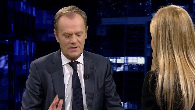 Tusk: Putin z XIX-wiecznym poglądem na politykę
