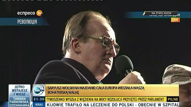 """""""Europa ma otwarte drzwi dla wolnej Ukrainy"""""""