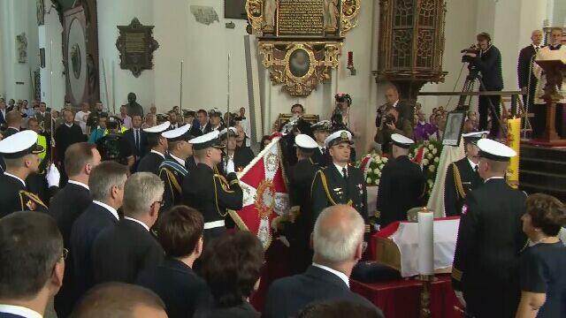 W Bazylice Mariackiej w Gdańsku pogrzeb Inki i Zagończyka