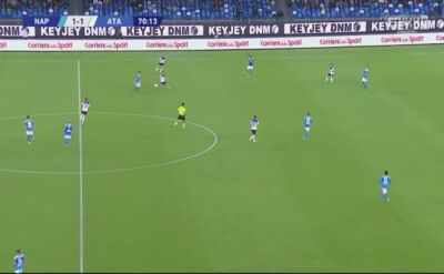 Napoli - Atalanta 2:2. Gol Milika