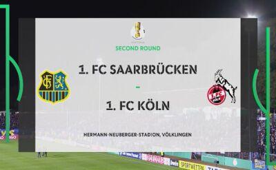 Skrót meczu Saarbruecken - Koeln
