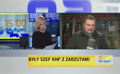 Były szef KNF usłuszał zarzut