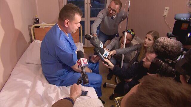 Uratowany górnik: byłem pewny, że ratunek przyjdzie