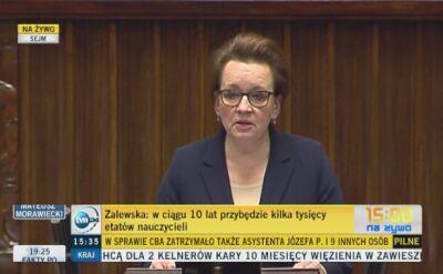 Anna Zalewska: Rozpoczynamy 5-letni proces