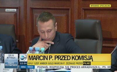 Marcin P.: nie przypominam sobie, żeby zależało mi na uderzeniu w rząd Donalda Tuska