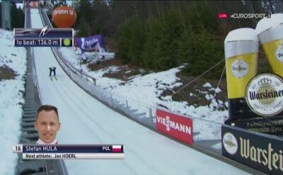 Skok Stefana Huli z pierwszej serii w Willingen