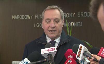 Minister środowiska: Kazimierz Kujda złożył na moje ręcę dymisję ze stanowiska