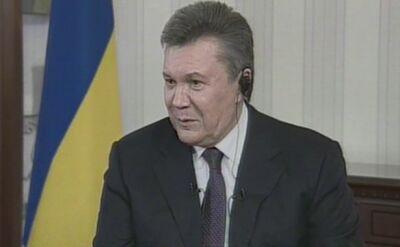 Janukowycz wini obecne władze za stratę Krymu