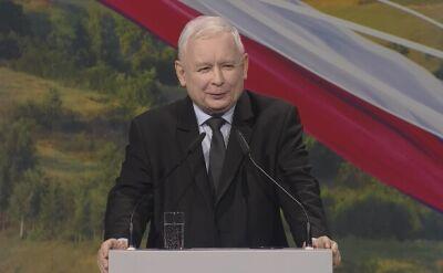 Kaczyński: chcemy jedności miast i wsi
