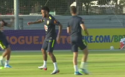Neymar gotowy na sparing z Senegalem
