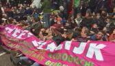 Aktywiści klimatyczni w Amsterdamie blokują główną arterię komunikacyjną