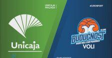Skrót meczu Unicaja Malaga - Buducnost Podgorica