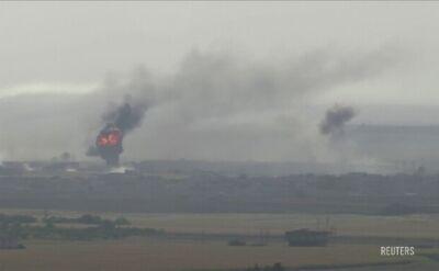 Eksplozje przy syryjskiej granicy. Ofensywa trwa
