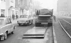 Poznań w lutym 1974 r.