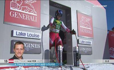Matthias Mayer najlepszy w Lake Louise