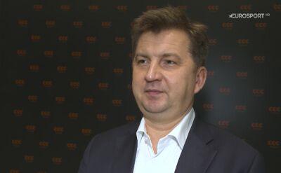 Dariusz Miłek o minionym sezonie CCC Team