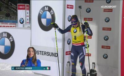 Wierer wygrała sprint, Polki poza czołówką