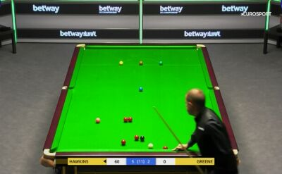 Hawkins awansował do drugiej rundy UK Championship