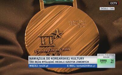 Tak wyglądają medale igrzysk w Pjongczangu