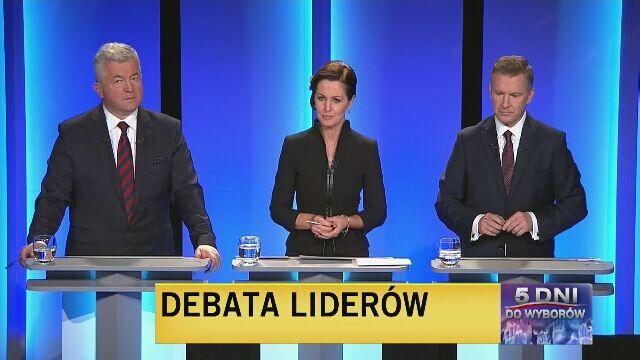 Wystąpienia końcowe uczestników debaty