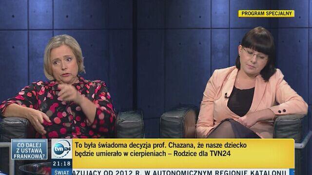 Gorąca dyskusja o aborcji: Wanda Nowicka, Kaja Godek i Daria Górka