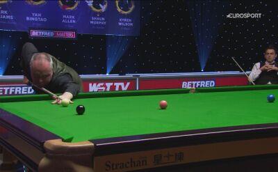 Największy brejk turnieju. 145 punktów Higginsa w ćwierćfinale Masters z O'Sullivanem